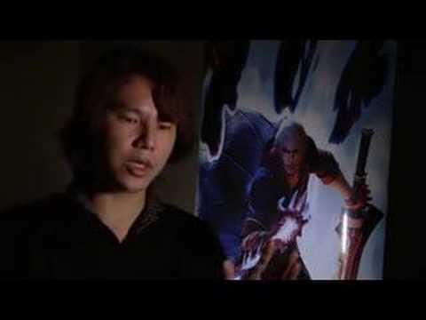 Devil May Cry 4 - Kobayashi Interview- HD