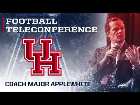 2017 Football Teleconference Week 4 - Houston Head Coach Major Applewhite
