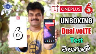 Oneplus 6 Unboxing & initial impressions ll in telugu ll