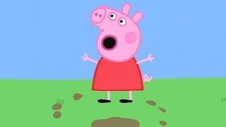 Peppa Pig Italiano Pozzanghere Di Fango - Collezione Italiano   Cartoni Animati