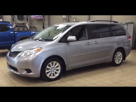 2013 Toyota Sienna LE AWD Review