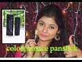 Coloressence Makeup Stick Review & Demo/Cheapest Makeup Concealer In India /Parna's Beauty World