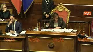 """La renziana Bellanova contro Casellati: """"Machista"""", e la Presidente: """"Rispetti chi parla"""" thumbnail"""