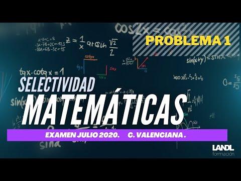 MATEMÁTICAS Comunidad Valenciana