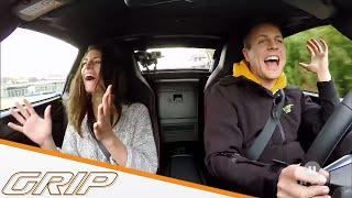 GRIP Zuschauer vs. Cyndie Allemann |Mazda MX-5 RF | GRIP