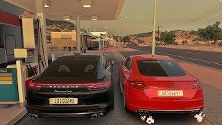 EduKof ‹ AM3NlC › VS ALASK BR - Porsche Panamera VS Audi TT - Forza Horizon 3 GoPro - G27