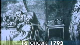 16 ottobre 1793 cade la testa di Maria Antonietta