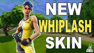 *NEW* WHIPLASH SKIN! Fortnite Battle Royale Victory Gameplay