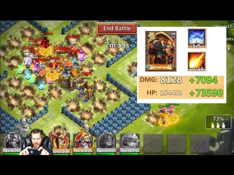 Minotaur Chieftain Destroying BASES In Guild Wars With Cupid Castle Clash