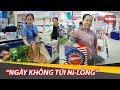 Báo PL&XH: Sử dụng túi giấy thay thế túi nilon khi đi chợ