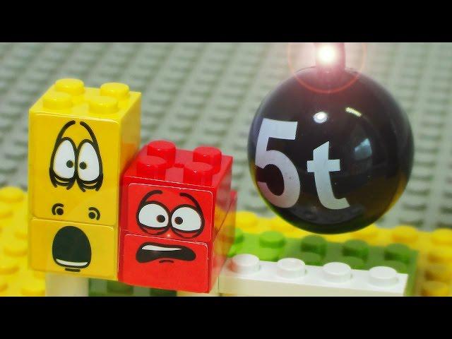 Stomp Larva house stop animation sponge bob disney play toy lego block ??? ?? ??? ?? ??? ?? ??
