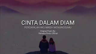 Cinta Dalam Diam Puisi Rangkaian Sastra Id Youtube