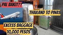OMG!!!! 10,000 PESOS EXCESS BAGGAGE SA PAL
