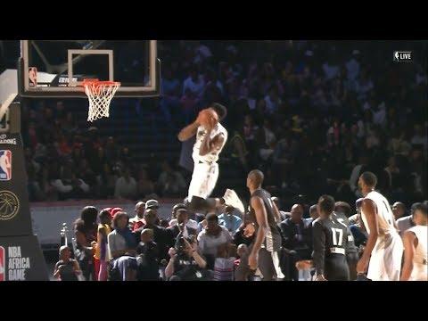Jaylen Brown 2017 NBA Africa Game Highlights (15 pts)