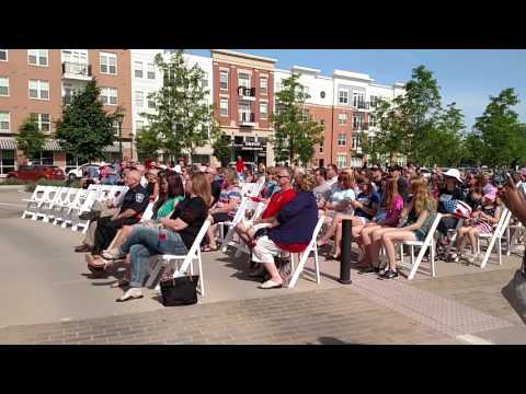 2016 Fishers, Indiana Memorial Day observance