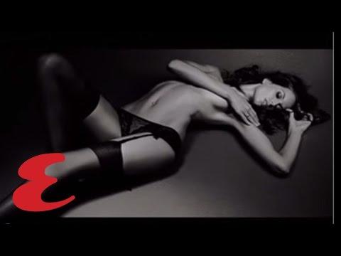 Izabel Goulart in Black Stockings - Victoria † s Secret