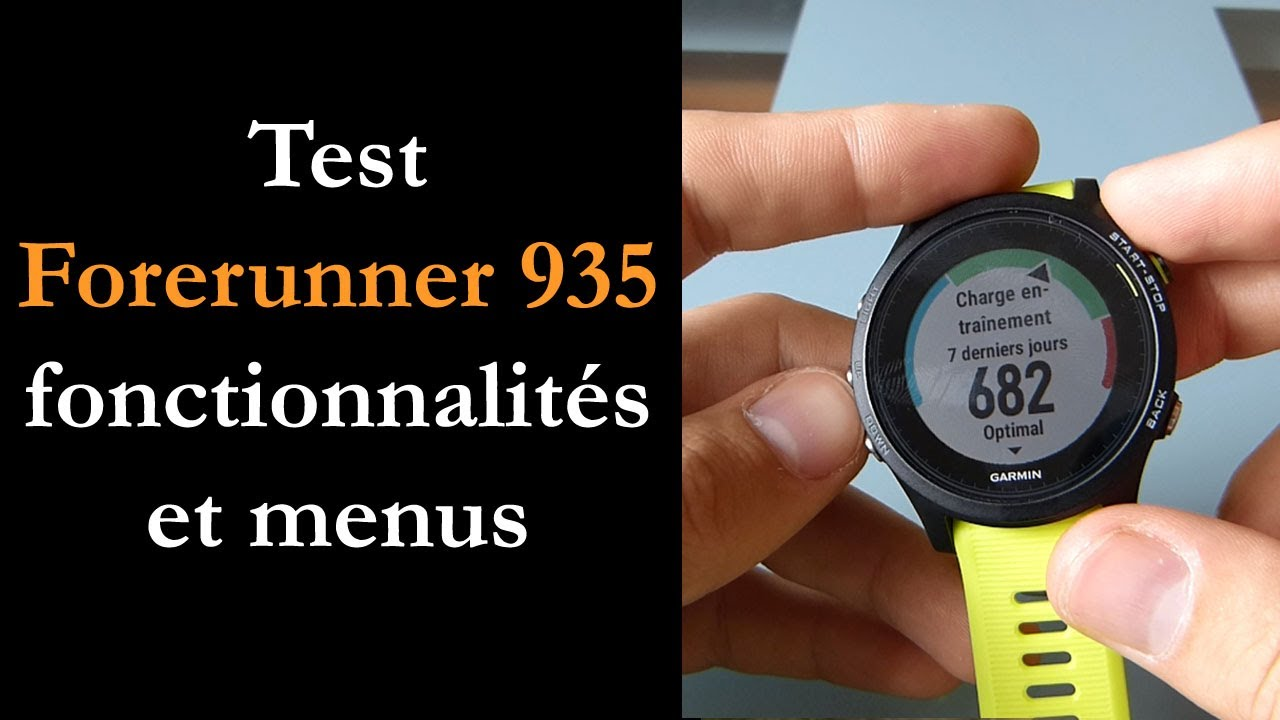 test garmin forerunner 935 youtube. Black Bedroom Furniture Sets. Home Design Ideas