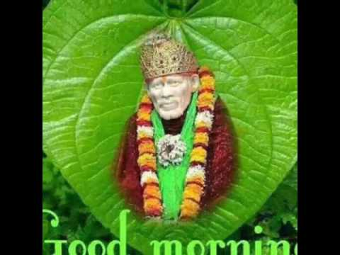 Good Morning Sai Baba Song Youtube