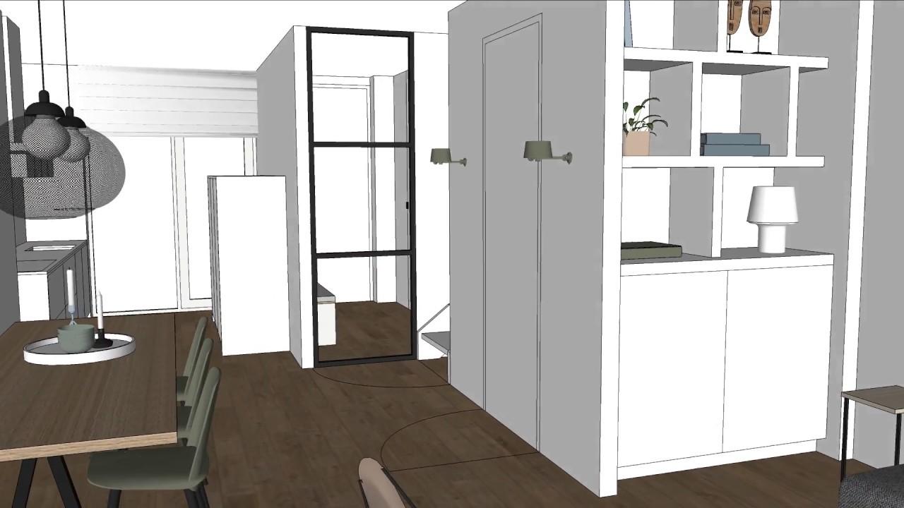 3d Woonkamer Ontwerpen : Interieuradvies d interieur ontwerp woonkamer youtube