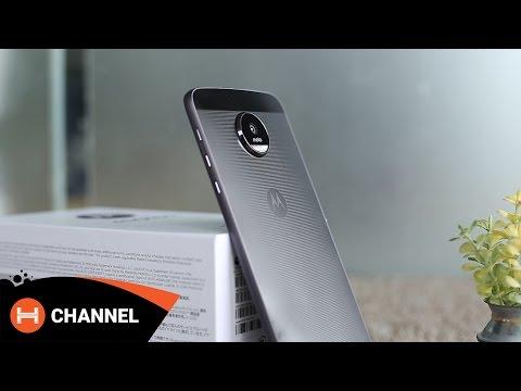 H-Channel | Mở hộp và đánh giá Moto Z: Siêu mỏng, thay đổi module cực dễ.