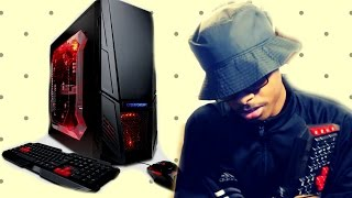 My New PC ! | CYBERPOWER PC gamer Ultra | (Unboxing)
