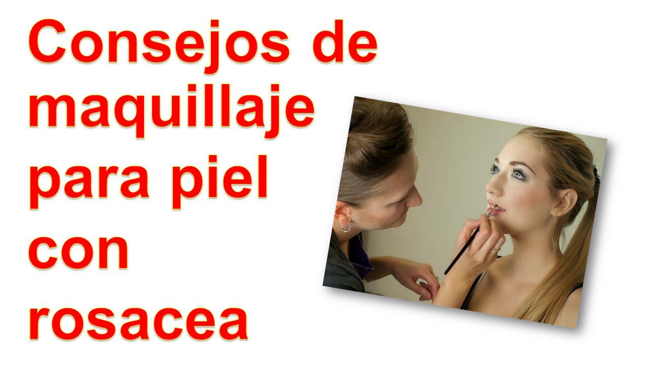 Consejos de maquillaje para piel con rosacea
