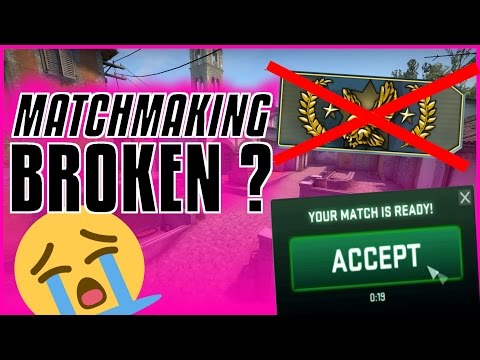 matchmaking connection not reliable csgo