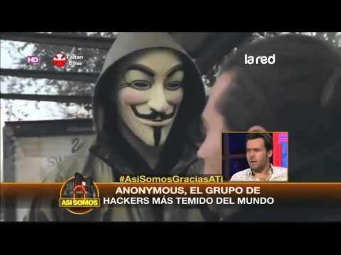 Anonymous, el grupo de hackers más poderosos del mundo