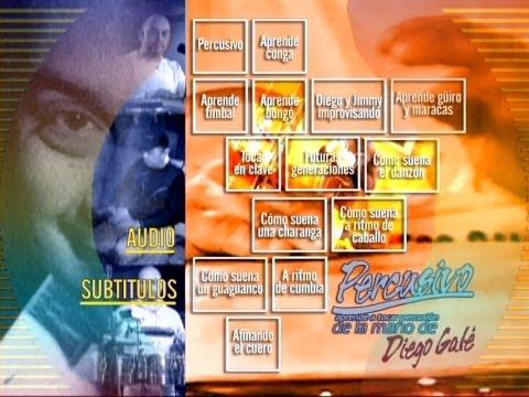 Diego Galé Percusivo DVD Completo Sub English (by Lucas Vazquez)