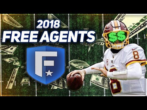 2018 NFL Free Agents Franchise | STACKED Team Goes For Super Bowl Run | Madden 18