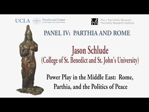 Thumbnail of Power Play in the Middle East: Rome, Parthia, and the Politics of Peace video