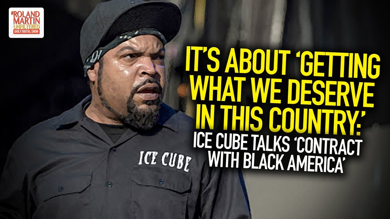 """Ice Cube Talks 'Contract With """"Black America"""""""