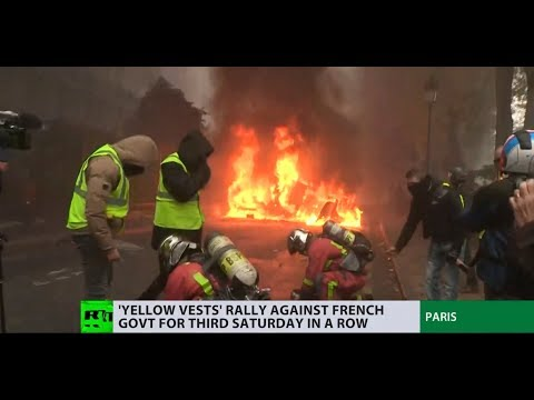 'Humanity should be put first, not money': Paris protests see Yellow Vests vent their anger