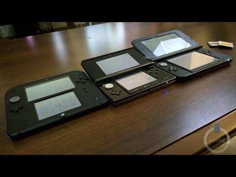 Nintendo 3DS vs 3DS XL vs 2DS Review