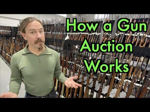 How the Gun Auction Process Works: Ian Buys a Kar98a!