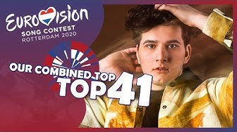🇳🇱 Eurovision 2020 – Our Combined Top 41 – (20 Different Tops from 14/03/2020)