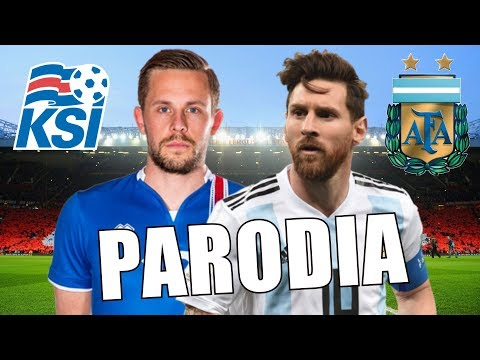 Canción Argentina vs Islandia (Parodia...