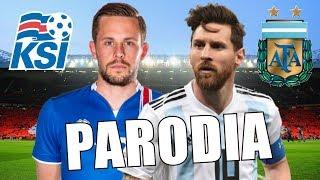 Canción Argentina vs Islandia (Parodia Bad Bunny - Soy peor)