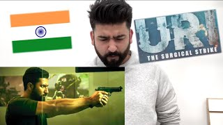 URI TRAILER REACTION | VICKY KAUSHAL, PARESH RAWAL | RAJDEEPLIVE | #ProudIndian