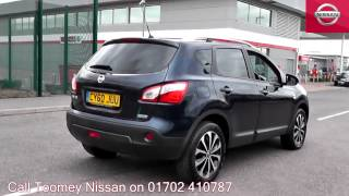 2011  Nissan Qashqai  N-Tec  1.5l Cayman Blue CY60JUU for sale at Toomey Nissan Southend