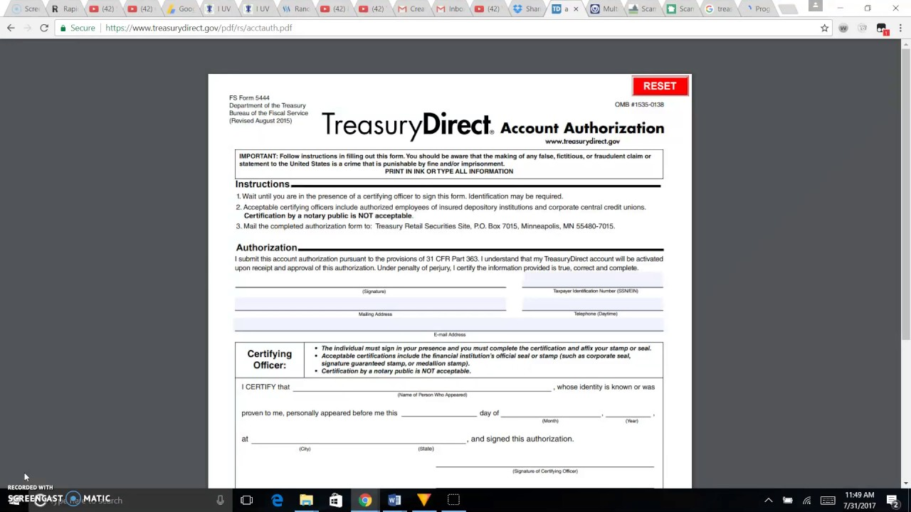 secret! tda form 5444e solution for tda accounts?