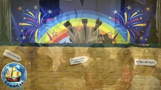 """Наш детский сад посетил  Дагестанский Государственный Театр Кукол со спектаклем """"Перекресток сказок"""""""