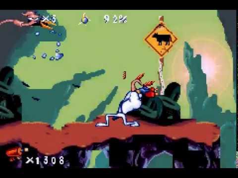 Jouez à Earthworm Jim sur Nintendo Gameboy Advance avec nos Bartops et Consoles Retrogaming