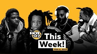 Casanova Talks 6ix9ine + Trippie Red on his Love Life + Funk Flex Freestyle on HOT 97 This Week!