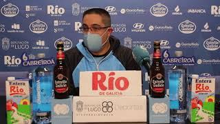 Video Previa (fragmento) rueda de prensa Leche Río Breogán - Real Valladolid