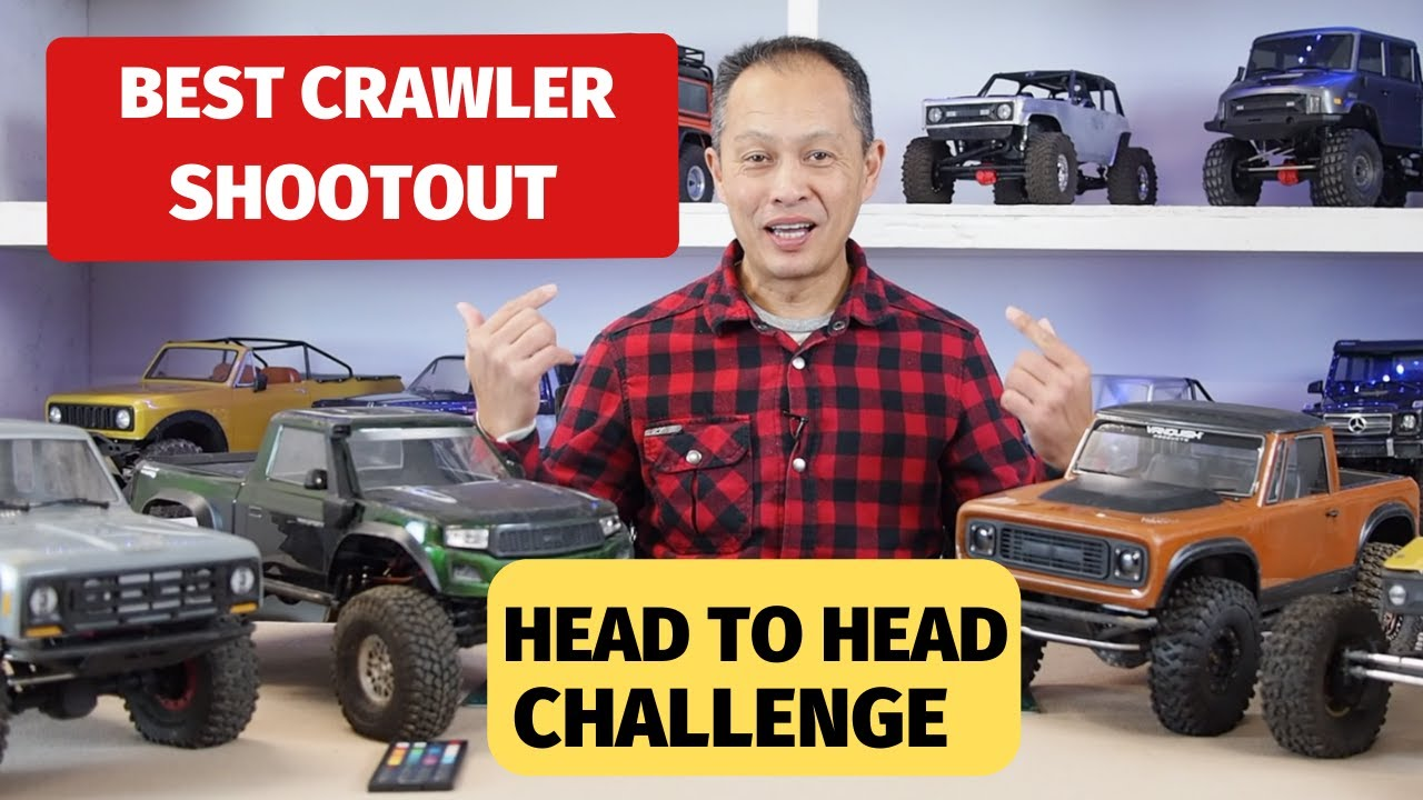 2020 Best Rc Crawler Shootout Trx 4 Capra Element Rc And Vanquish Vs4 10 And Rtr Challenge Youtube