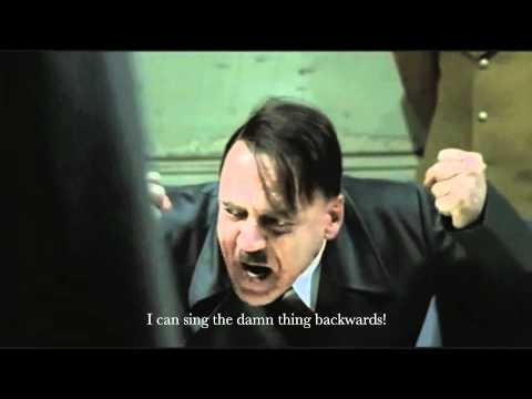 Hitler finds out David Hasselhoff cancelled tour of Germany