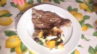 Готовим вместе: Простой сицилийский салат !!!