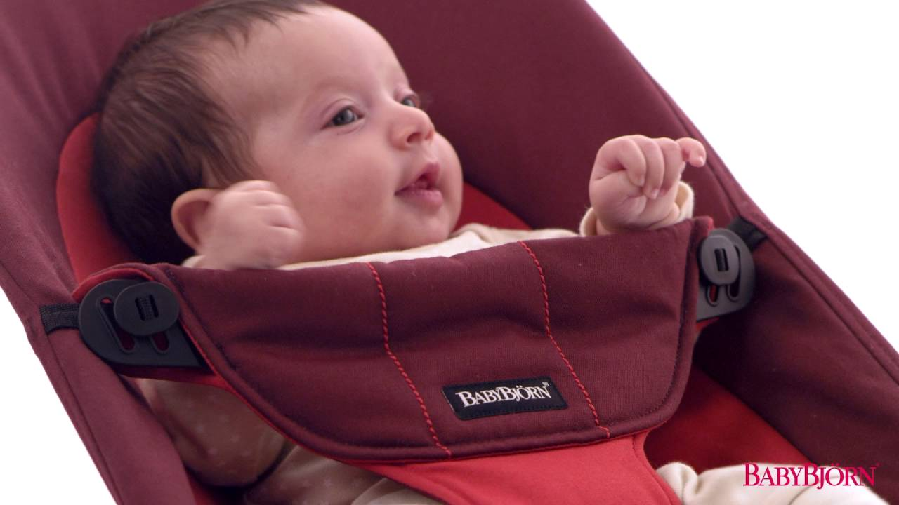 6cd575ec8b5 Кресло-шезлонг BabyBjorn Balance Soft Air. - YouTube