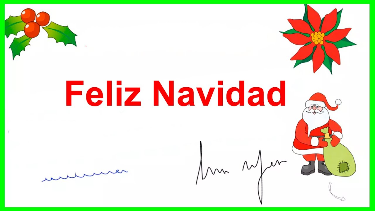 Merry Christmas in Mexican Spanish, Have a Merry Christmas in ...